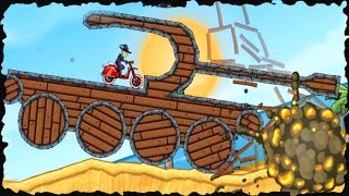 MOTO X3M Bike Racing Game - Update Halloween levels (1-15)Walk-through