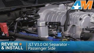 2007 2014 gt500 jlt v3 0 oil separator passenger side review install
