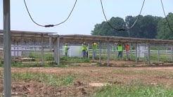 NJ's largest solar power installation