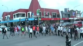 Levin New Zealand. Haka RWC 2011