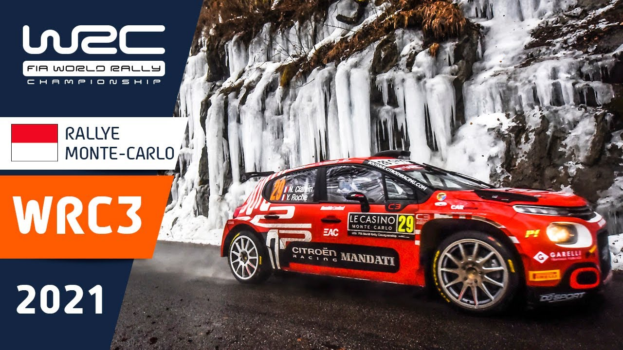 WRC3 - Rallye Monte-Carlo 2021: Friday Highlights