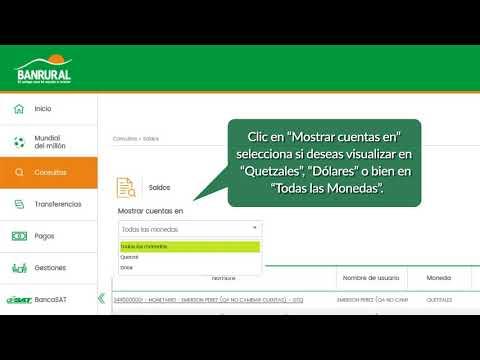 3 CONSULTA DE SALDO NUEVA BANCA VIRTUAL BANRURAL
