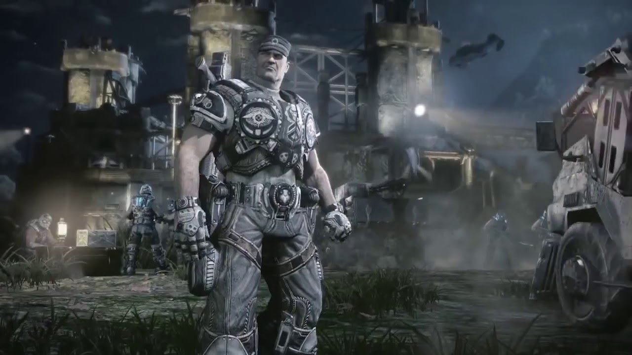 Gears Of War 3 Opening Scene / Intro (HD Best Quality