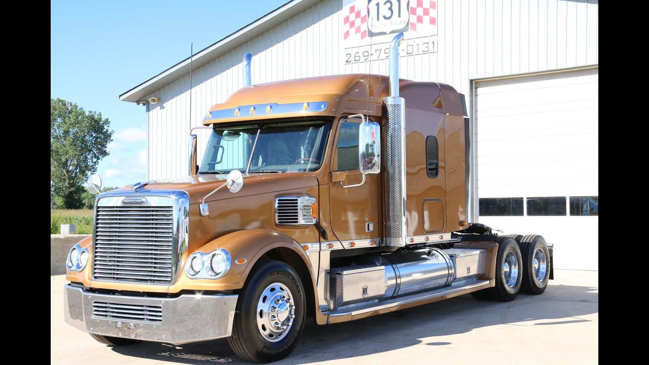 2013 Freightliner Coronado Fitzgerald Glider   131 Truck Sales