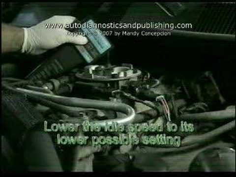 TPS or Throttle Position Sensor Adjustment 2