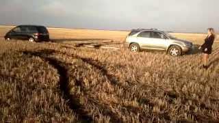Lexus rx300  спасает Шарана