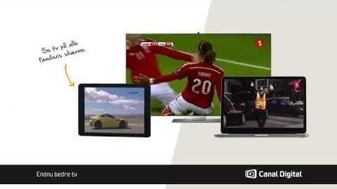 Canal Digital GO - se tv på alle familiens skærme.