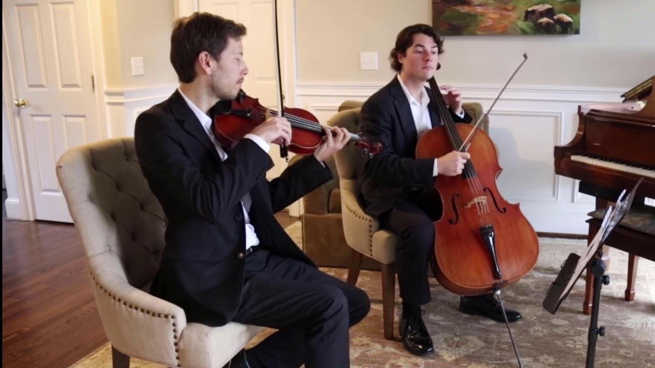 Ceremony Music for Charleston Weddings, String Quartet, Trio