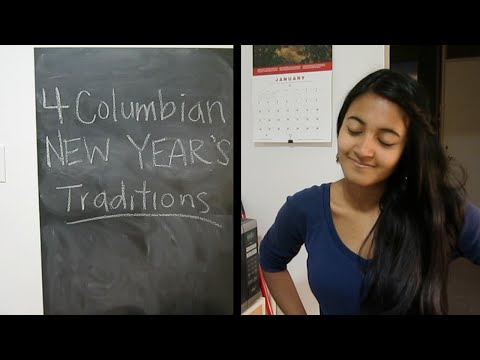4 Colombian New Year's Traditions!