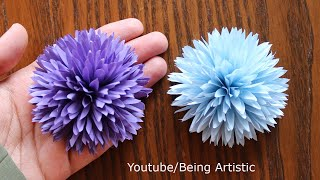 How To Make Paper Flower - Paper Craft - DIY  Paper Flower