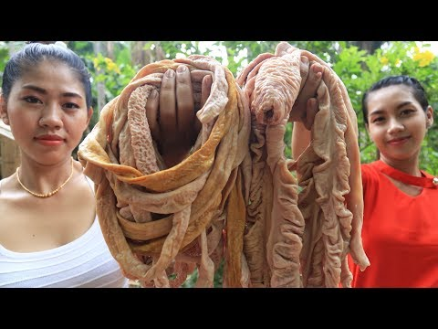 Yummy cooking intestine pig recipe - Cooking skill