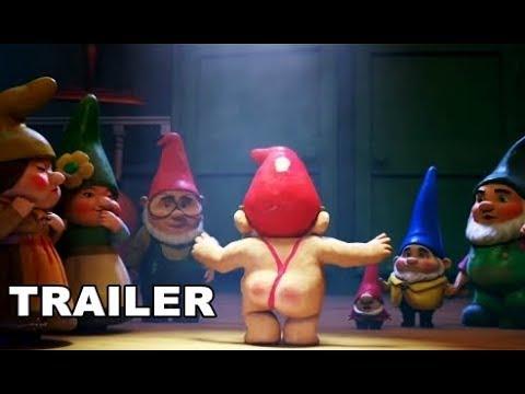Sherlock Gnomes - Trailer Español Latino 2018