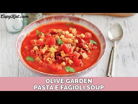 Olive Garden Pasta E Fajioli Soup – CopyKat Recipe