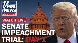 Trump impeachment trial begins in Senate | Day 1