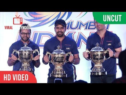 UNCUT - IPL 2017 Winner Mumbai Indians Press Conference | Rohit Sharma, Parthiv Patel, Shane Bond