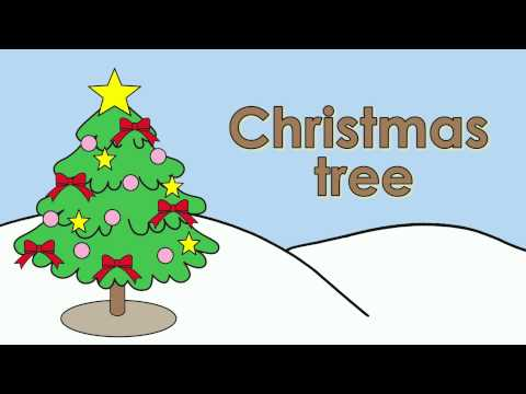 Learn Christmas Vocabulary | Talking Flashcards