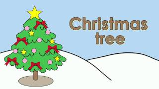 Learn Christmas Vocabulary   Talking Flashcards