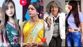 Dr Gulati And Rinku devi special   Rinku bhabhi kapil sharma show Musically compilation