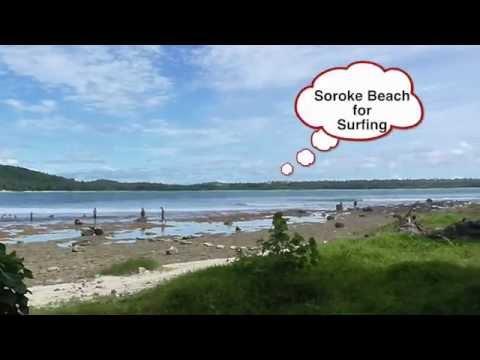 New Baholo Resort on South Nias Island, Indonesia