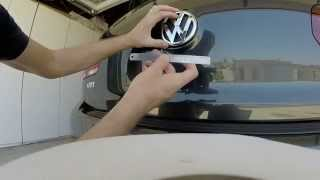 2013 VW GTI: Episode 48: Removing Rear Hatch Emblem and Painting