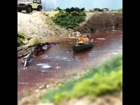 HO Scale River Ripples (Train Layout, Diorama), Water