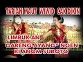 "Ki H.Anom suroto ""Gatutkaca Krido ""Limbuk cangik/Gareng & Wiwit Cak dikin Live boloh toroh"