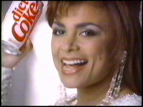 Paula Abdul in 1991 Diet Coke Commercial