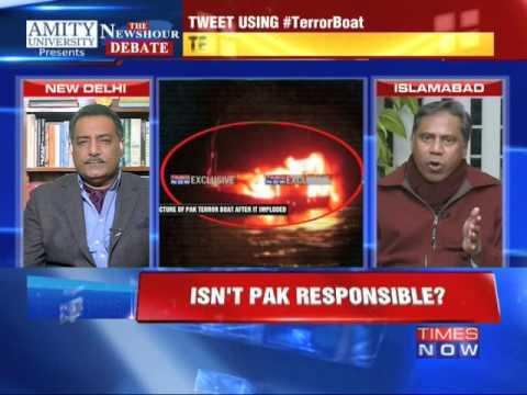 The Newshour Debate: Did Pakistan back Terror Boat? - Full Debate (2nd Jan 2015)