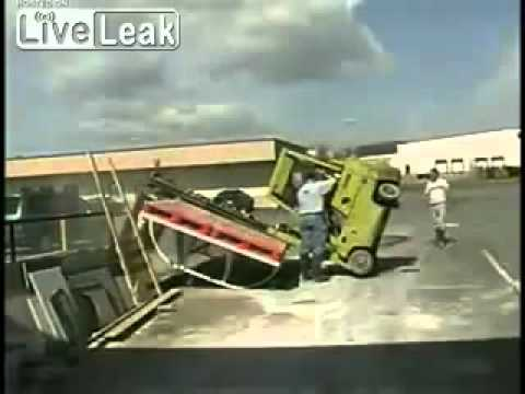 Forklift Fail Very Expensive Piece Of Granite Broken