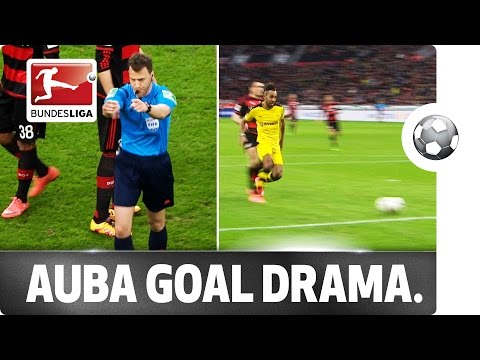 9-Minute Delay - Referee Interrupts Top Game After Aubameyang's 50th Bundesliga Goal