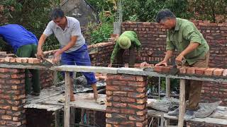 How To Install a Brick Wall Easy   Latest Modern Construction Bulkhead Walls For House