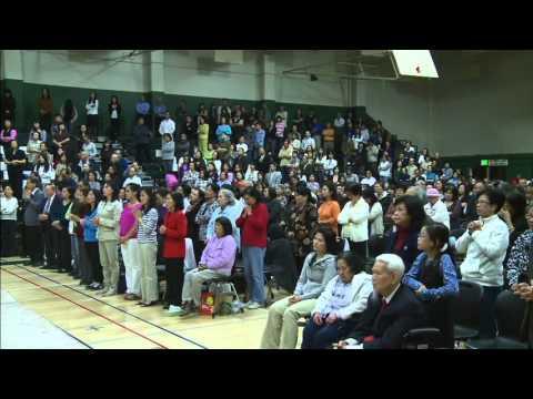 Fr. Minh Bui - Lễ Khai Mạc Kính Lòng Thương Xót Chúa (VietCatholic) San Jose, CA  04/2013