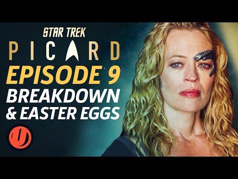"""Star Trek: Picard Episode 9 """"Et In Arcadia Ego, Part 1"""" Breakdown & Easter Eggs"""