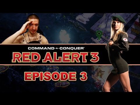 OUR FIRST REAL FIGHT! - Command and Conquer: Red Alert 3 - Episode 3 | Remember the Classics