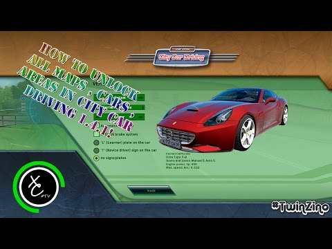 city car driving unlock game cars and map 100 save. Black Bedroom Furniture Sets. Home Design Ideas