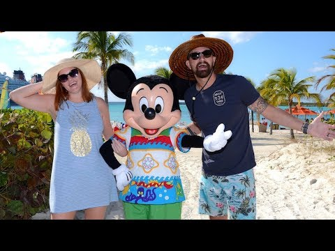 Disney Cruise Week! | Disney's Private Island Castaway Cay, Farewell Party & Secret Character Meets!