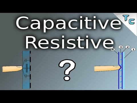The Difference Between Capacitive Resistive Touch Screens