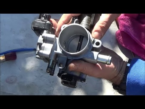 2007-2013 Toyota Corolla How to Clean the Throttle Body and the Idle Air Control Valve PART II