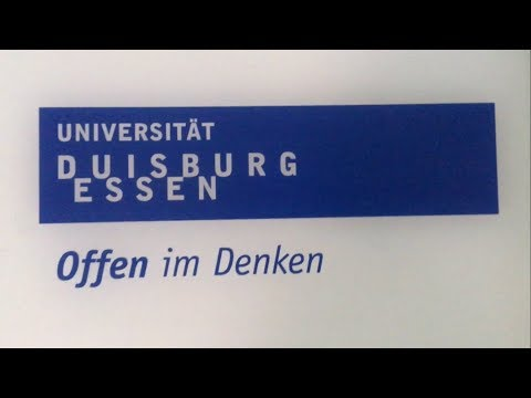 The First Day At University Duisburg-Essen