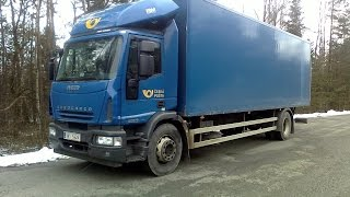 Driver on the road - Iveco Eurocargo 190E