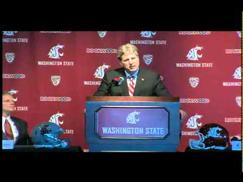 Mike Leach Introductory Press Conference! 12/6