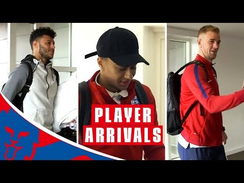 England Arrive for Netherlands and Italy Friendlies | Inside Access