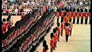 Scots Guards Trooping the Colour 1977 Part 2