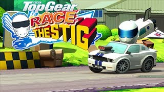 Обзор top gear  race the stig для android, рекорд 620 000