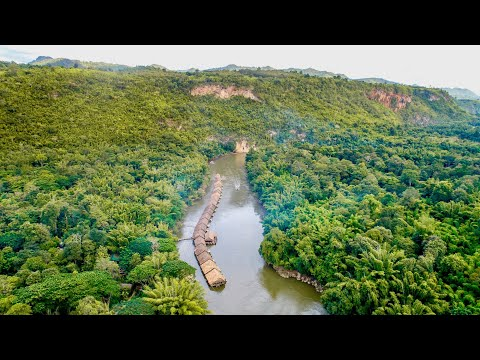 Best Eco Floating Hotel in Kanchanaburi Thailand in 2019 - River Kwai Jungle Rafts Floating resort