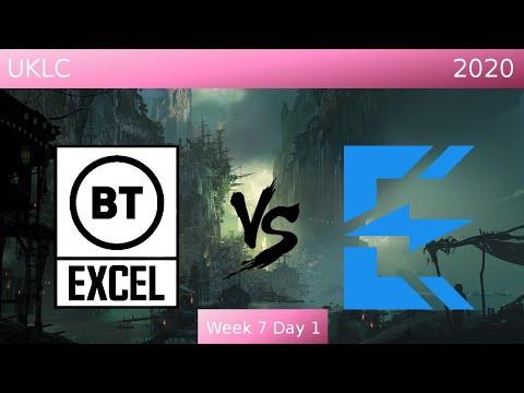 BT Excel vs Enclave Gaming Highlights   UKLC Spring 2020 W7D1  
