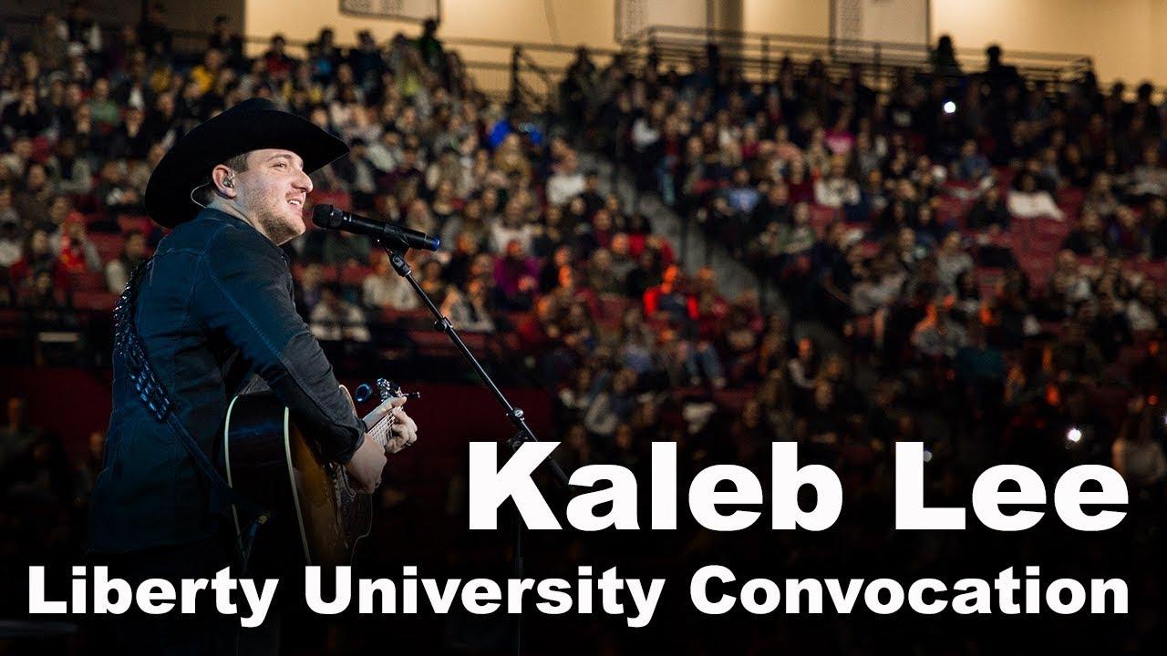 Kaleb Lee - Liberty University Convocation