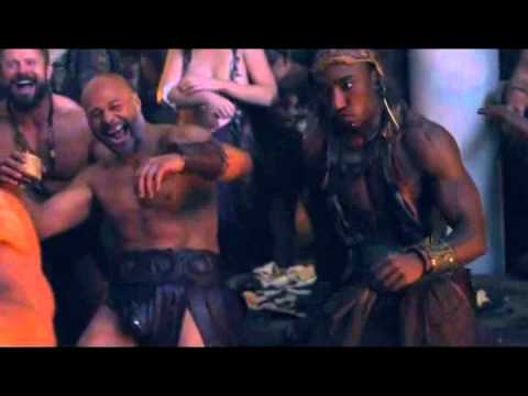 Agron And Nasir 3x03 Agron Gets Mad And Jealous And Ends Up Beating Castus