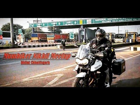 Mumbiker Nikhil | Mumbai to Kolkata | Meetup | Bhilai-Raipur | Nomadic Soul