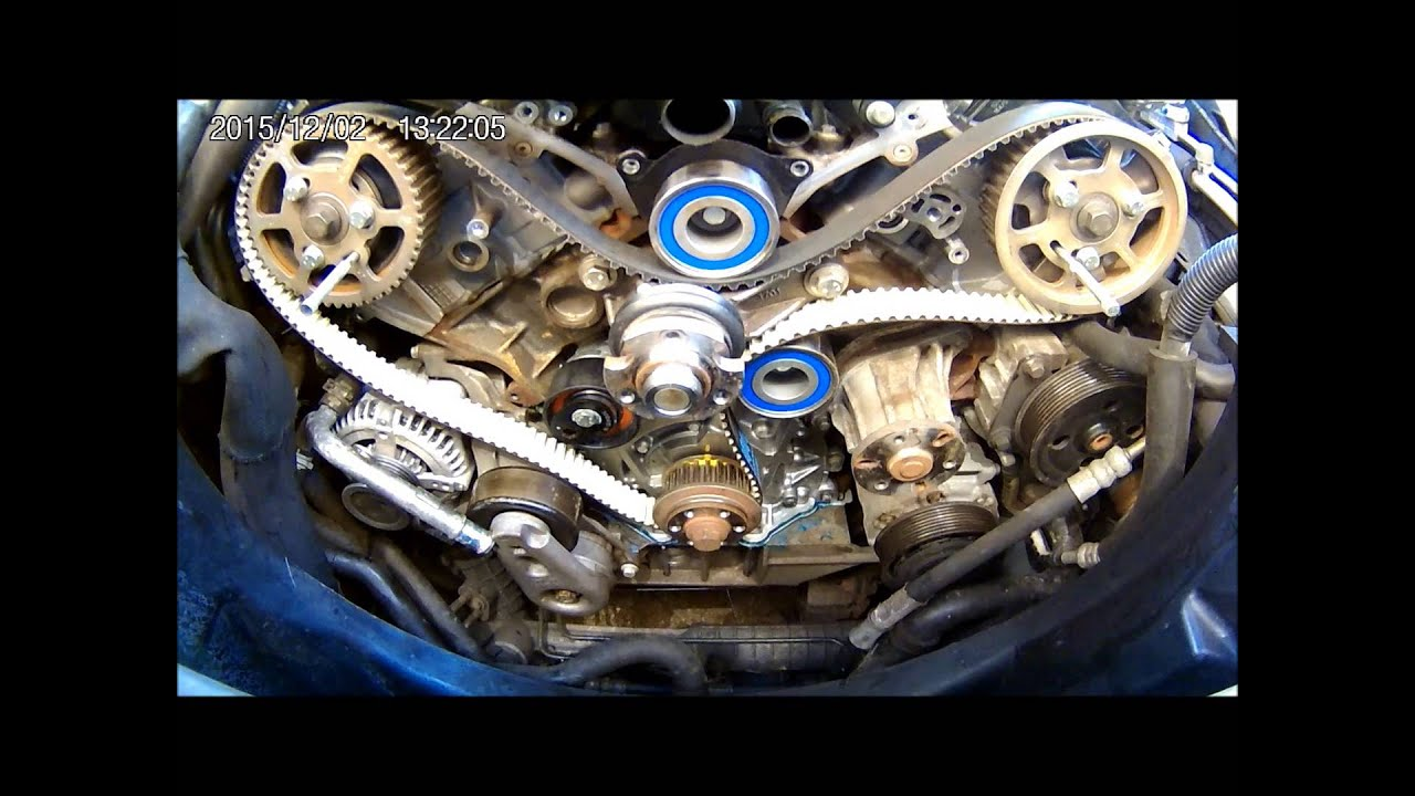 Discovery 3 2 7tdv6 Timing Belt And Oil Pump Change Youtube